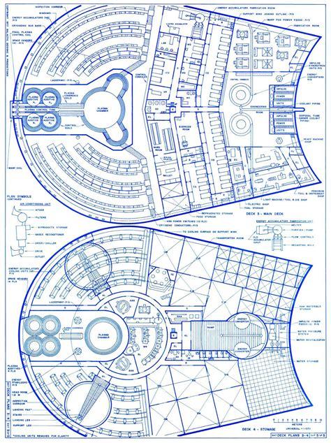 starship deck plan generator trek blueprints romulan quot bird of prey quot cruiser