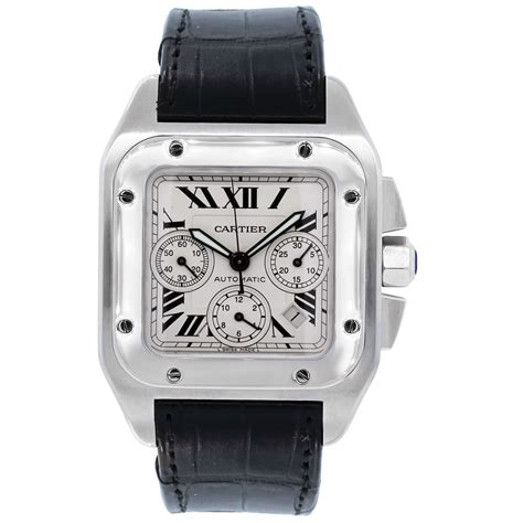 Cartier 2740 Santos 100xl Chronograph Automatic Watch. 14k Wedding Band. Mens Hugo Boss Watches. Benchmark Bands. Matching Watches. Light Watches. Diamond Certified. Platinum Stud Earrings. East West Rings