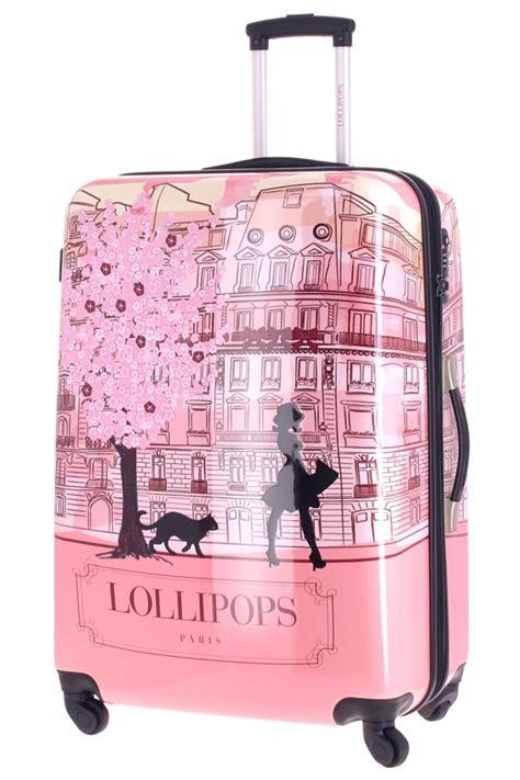 valise lollipops grand trolley rigide avec 4 roulettes de la marque lollipops et