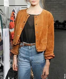 Blouson En Daim Femme : le daim le nouveau cuir tendances de mode ~ Melissatoandfro.com Idées de Décoration
