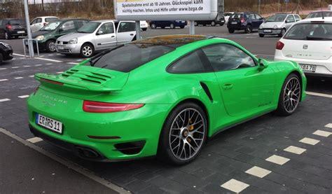 green porsche 911 signal green porsche 911 turbo is something else