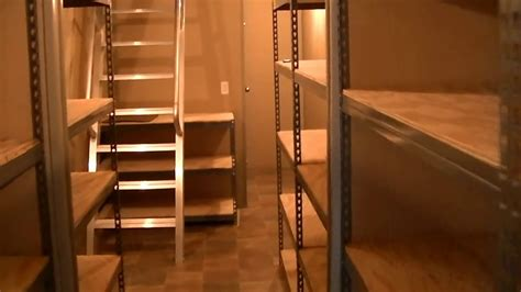 underground shelters built  shipping container youtube