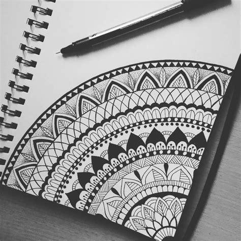 Designs Draw Mandala Easy Corner