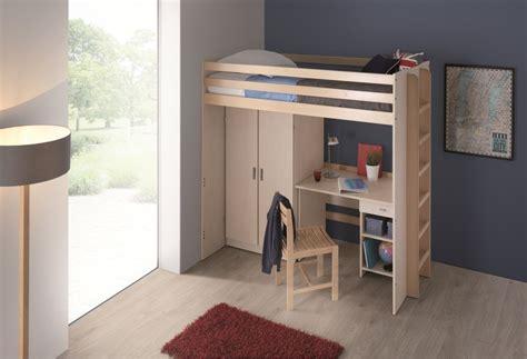 ugap mobilier bureau lit mezzanine 80 x 190 cm morphea sommier panneau