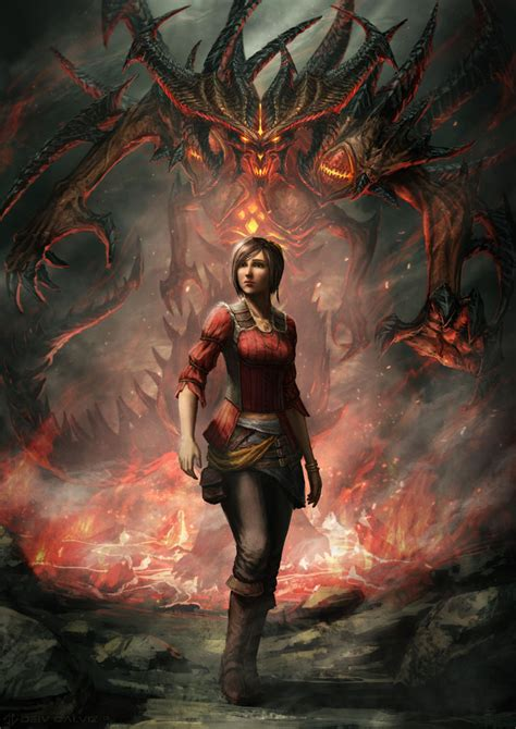 Fan Creation Of The Week Diablo Iii Anniversary Art
