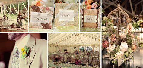 Vintage Wedding Decorations, Ideas And Style Guide