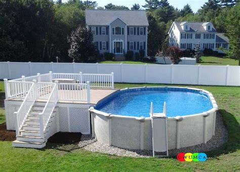 Above Ground Swimming Pool Steps Deck by Swimming Pool Pool Decks Gorgeous Deck Stairs For Above