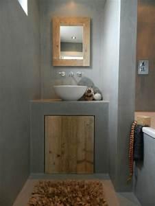 Salle De Bain Style Industriel : 16 id es b ton pour des salles de bain design ~ Dailycaller-alerts.com Idées de Décoration