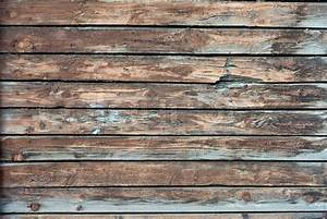 Old, grunge wood panels used as background Stock Photo