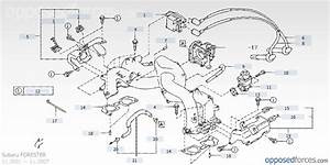 2011 Subaru Forester Parts Diagram