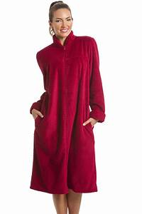 soft fleece berry zip front house coat With robe de chambre polaire junior