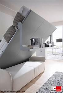 Kleines Gästezimmer Einrichten : kleine r ume einrichten leicht gemacht mit einem schrankbett living r ume in 2019 pinterest ~ Eleganceandgraceweddings.com Haus und Dekorationen