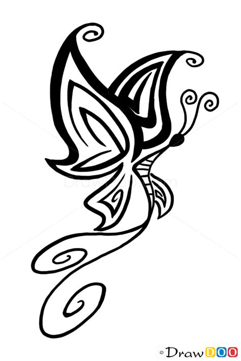 Butterfly tattoo designs, How to Draw Tattoo Designs