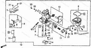 Honda Motorcycle 1980 Oem Parts Diagram For Carburetor