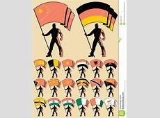 Flag Bearer 5 Stock Images Image 22467744