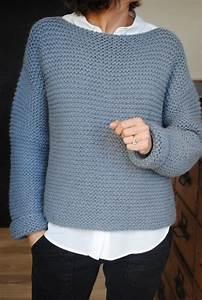 Modele De Tricotin Facile : modele tricot pull femme debutant pull lemon grass ~ Melissatoandfro.com Idées de Décoration