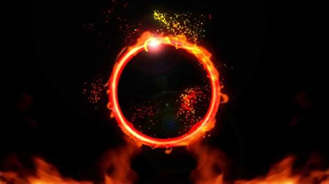ring  flames ae project  effects youtube