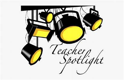 Spotlight Cartoon Lights Stage Theatre Clipart Bulb