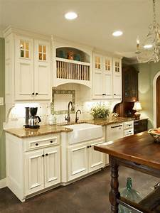 french country kitchen makeover bonnie pressley hgtv With what kind of paint to use on kitchen cabinets for french country kitchen wall art