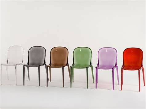 kartell chaises kartell thalya chair jouin atomic interiors