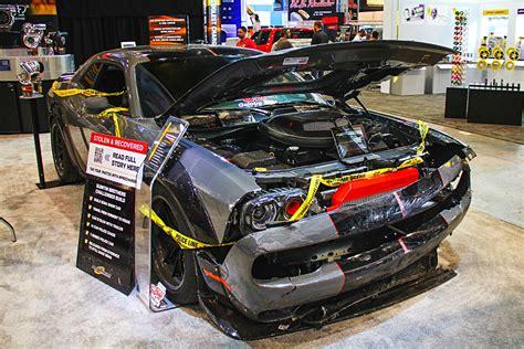 Stolen ProCharger 700 HP Dodge Challenger Found! Still ...