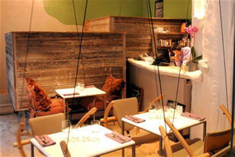 cuisine insolite restaurant insolite à où l 39 on mange sur des