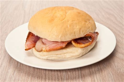 savoury canapes bacon rolls catering menu