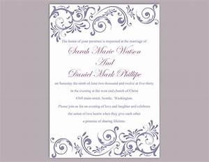diy wedding invitation template editable text word file With free printable and editable wedding invitations