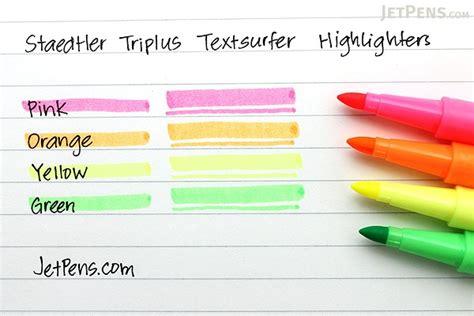 staedtler triplus textsurfer highlighter  color set