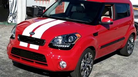 miami kia soul vinyl racing stripes   certified car