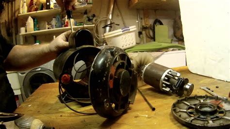 electric motor repair disassembly  reassembly youtube