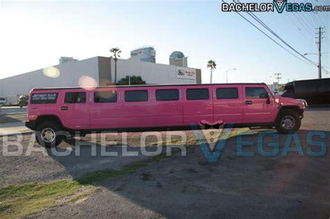 Limo Rental Vegas by Las Vegas Pink Hummer Limo Bachelor Vegas