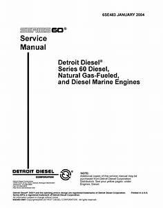 Detroit Diesel Series 60 Diesel    Natural Gas