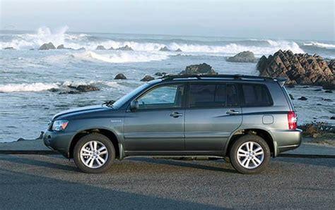2006 Toyota Highlander Hybrid Mpg by 2006 Toyota Highlander Hybrid Information And Photos