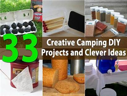 Diy Camping Projects Creative Clever Crafts Camp