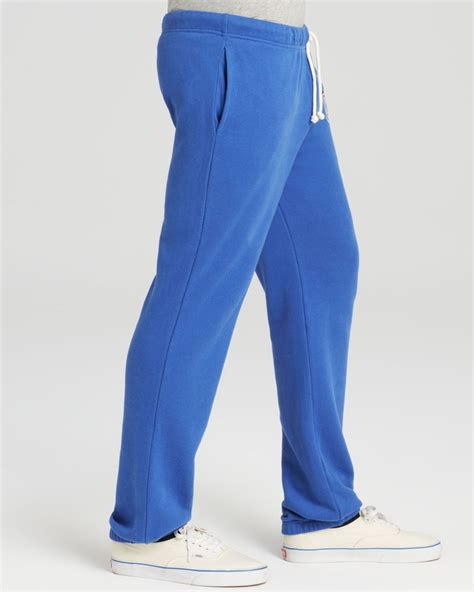 lyst junk food nfl shield sunday sweatpants  blue  men