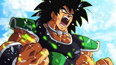 saiyan transformation   dragon ball super broly