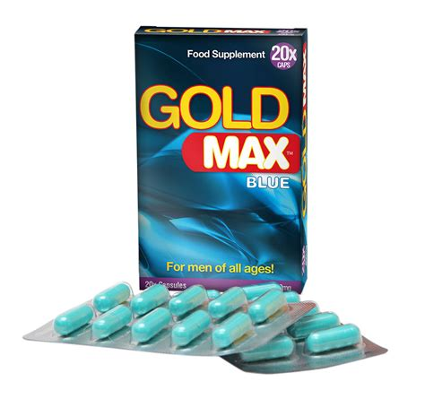 gold max blue virility pills libido enhancer for men