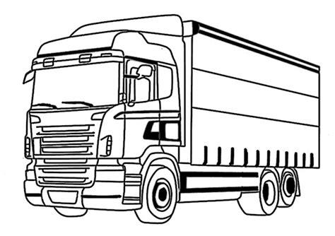 Kleurplaat Volvo Vrachtwagen by Kleurplaat Volvo Vrachtwagen Lkw Malvorlagen Kostenlos Zum