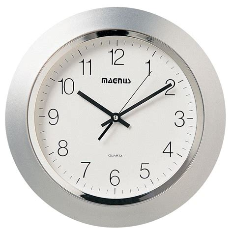 contemporary baby furniture dainolite quartz clock by oj commerce 29012 mt sv 41 26