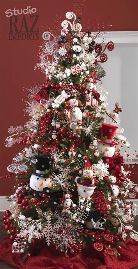 contoh dekorasi pohon natal christmas tree decorations