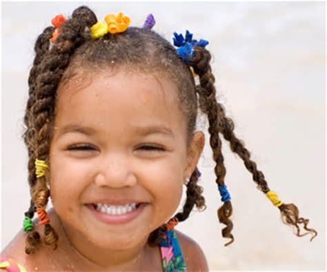 coiffure africaine enfants