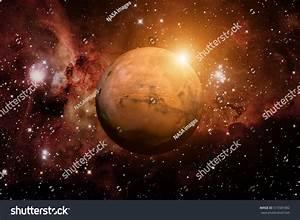 Solar System Mars Fourth Planet Sun Stock Photo 515581882 ...