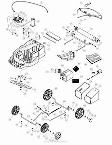 Dr Power Em6 3  Battery Powered Lawn Mower Parts Diagram For Housing Detail  Lower