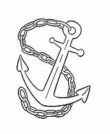Chain Coloring Anchor Colouring Designlooter Drawings Tied Sketch 66kb 734px Template sketch template