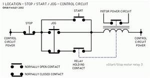 Start Stop Start Control Wiring Diagram With Six Stops