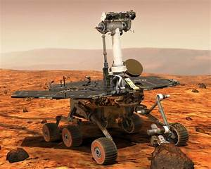 Solar Panels on Opportunity, The Mars Rover - Lasting ...
