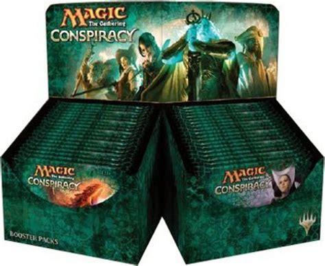 conspiracy booster box mtg magic  gathering sealed