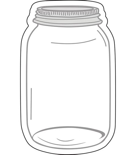 jar template jars cut outs