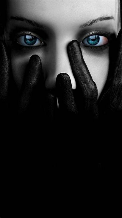 Face Covering Leather Gloves Wallpapers Dark Iphone
